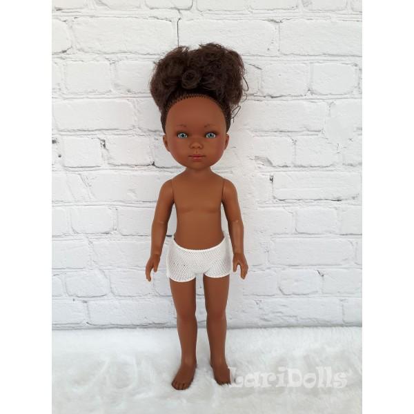 Кукла Vestida de Azul CARLOTA ( мулаточка - шатенка), 28 см