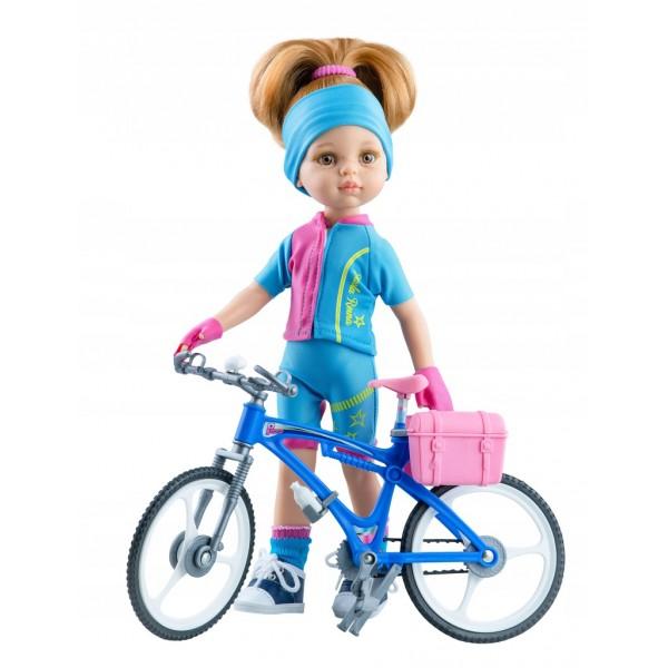 Кукла Paola Reina Даша (велосипедистка), 32см