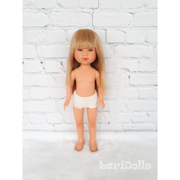 Кукла Vestida de Azul CARLOTA (блондинка с челкой) , 28 см