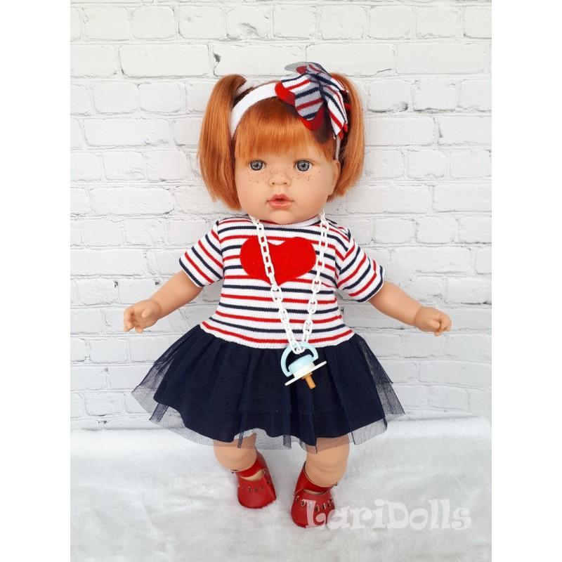 Кукла мягконабивная Tita , 45 см